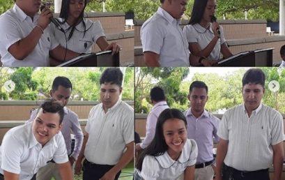 Misa de posesión del Gobierno Escolar